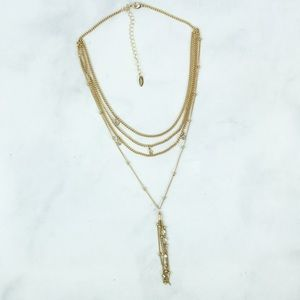 Ettika Chloe Tassel Necklace